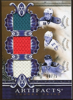 2010/11 Upper Deck Artifacts Tundra Trios Bronze #TT3WISC Dany Heatley/Rene Bourque/Joe Pavelski 30/75