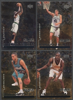 1998/99 Upper Deck Black Diamond Basketball Partial Set