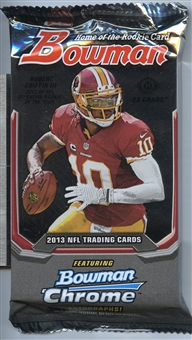 2013 Bowman Football Hobby Pack