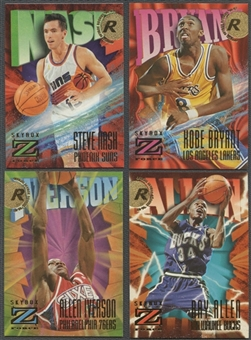 1996/97 Skybox Z-Force Series 1 & 2 Basketball Partial Set