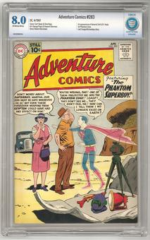 Adventure Comics #283 CBCS 8.0 (OW-W) *16-1C23609-014*