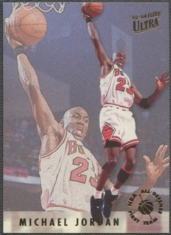 1993/94 Ultra #2 Michael Jordan All-Defensive