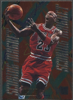1995/96 Metal #4 Michael Jordan Scoring Magnets