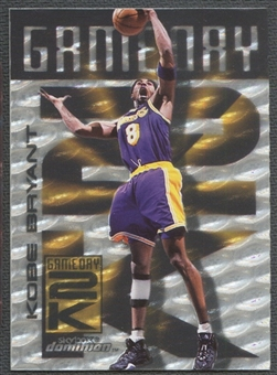 1999/00 SkyBox Dominion #2 Kobe Bryant Game Day 2K Warp Tek
