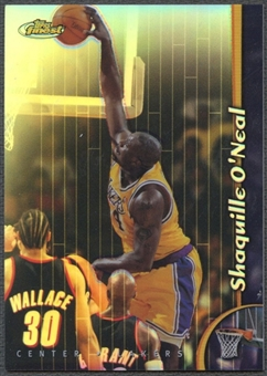 1998/99 Finest #40 Shaquille O'Neal No Protectors Refractors