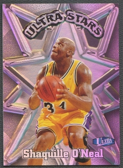 1997/98 Ultra #4 Shaquille O'Neal Ultra Stars