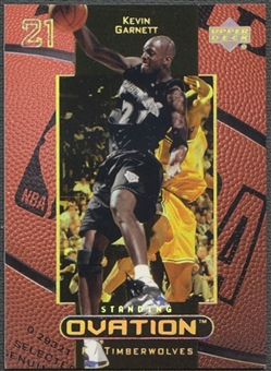1999/00 Upper Deck Ovation #32 Kevin Garnett Standing Ovation #47/50