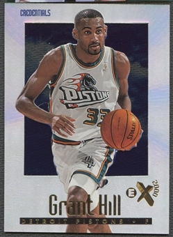 1996/97 E-X2000 #19 Grant Hill Credentials #362/499