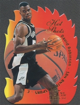 1996/97 Flair Showcase #15 David Robinson Hot Shots