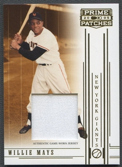 2005 Prime #85 Willie Mays Patch #05/25