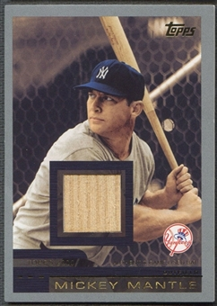 2006 Topps #2000 Mickey Mantle Mantle Collection Bat Relics #099/117