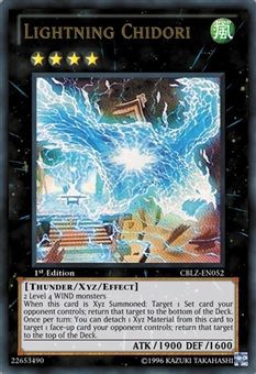 Yu-Gi-Oh Cosmo Blazer Single Lightning Chidori Ultimate Rare