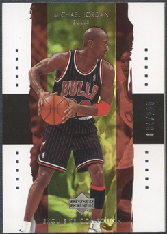2003/04 Exquisite Collection #3 Michael Jordan #034/225