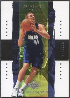 2003/04 Exquisite Collection #6 Dirk Nowitzki #162/225