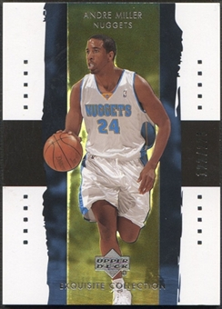 2003/04 Exquisite Collection #8 Andre Miller #122/225