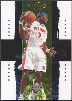 2003/04 Exquisite Collection #9 Ben Wallace #078/225