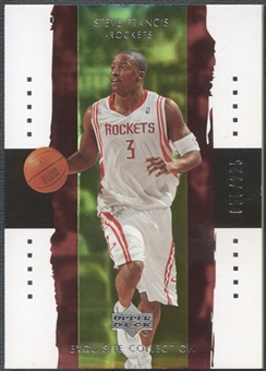 2003/04 Exquisite Collection #11 Steve Francis #055/225