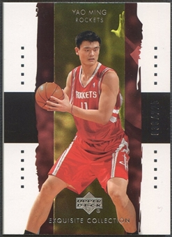 2003/04 Exquisite Collection #12 Yao Ming #038/225