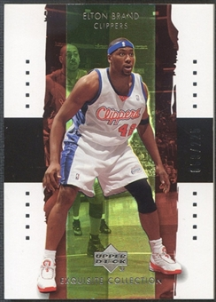 2003/04 Exquisite Collection #14 Elton Brand #059/225