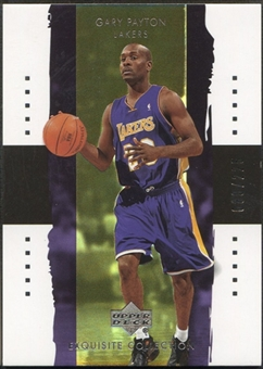 2003/04 Exquisite Collection #16 Gary Payton #080/225