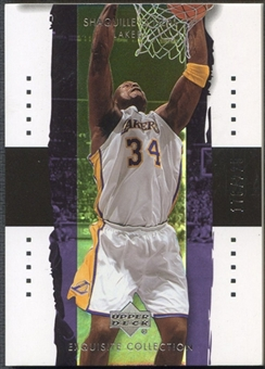 2003/04 Exquisite Collection #17 Shaquille O'Neal #176/225
