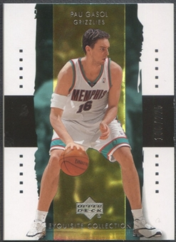 2003/04 Exquisite Collection #18 Pau Gasol #198/225