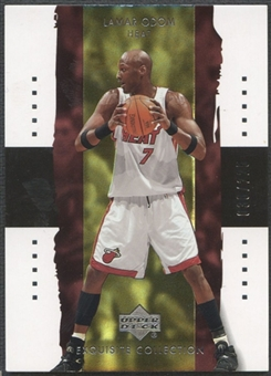 2003/04 Exquisite Collection #19 Lamar Odom #038/225