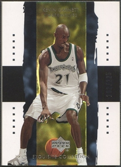2003/04 Exquisite Collection #21 Kevin Garnett #162/225
