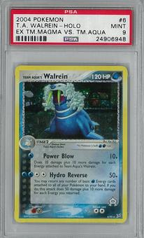 Pokemon EX Team Magma VS Team Aqua Single Walrein 6/95 PSA 9 - **24906948**
