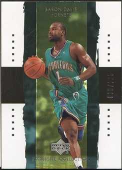 2003/04 Exquisite Collection #25 Baron Davis #036/225