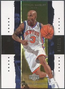 2003/04 Exquisite Collection #27 Stephon Marbury #041/225