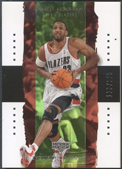 2003/04 Exquisite Collection #32 Shareef Abdur-Rahim #123/225