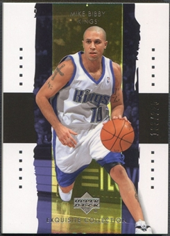 2003/04 Exquisite Collection #33 Mike Bibby #133/225