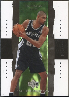 2003/04 Exquisite Collection #35 Tim Duncan #073/225