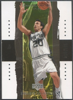 2003/04 Exquisite Collection #36 Manu Ginobili #013/225