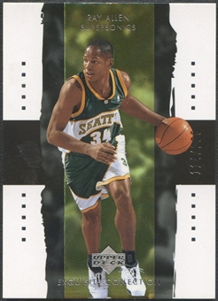 2003/04 Exquisite Collection #37 Ray Allen #114/225