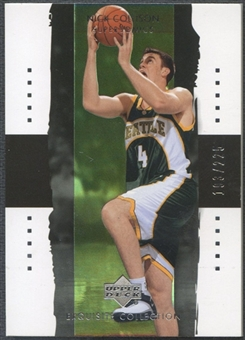 2003/04 Exquisite Collection #38 Nick Collison Rookie #193/225