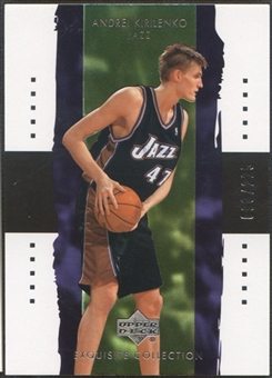 2003/04 Exquisite Collection #40 Andrei Kirilenko #090/225