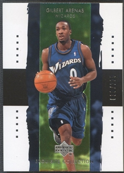2003/04 Exquisite Collection #41 Gilbert Arenas #030/225