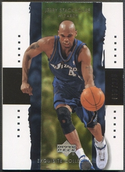 2003/04 Exquisite Collection #42 Jerry Stackhouse #053/225