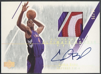 2003/04 Ultimate Collection #130 Chris Bosh Rookie Patch Auto #21/25