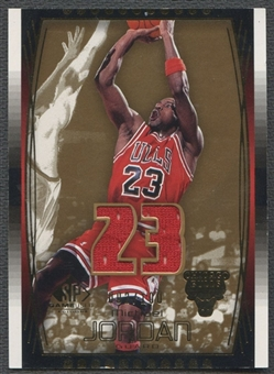 2004/05 SP Game Used #71 Michael Jordan Parallel Jersey #002/100