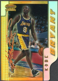 1996/97 Bowman's Best Picks #BP10 Kobe Bryant Refractor
