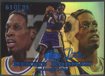 1998/99 Flair Showcase #64 Dennis Rodman Legacy Collection Row 1 #61/99