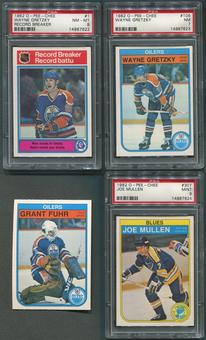 1982/83 O-Pee-Chee Hockey Complete Set (NM-MT) With 3 Graded PSA Cards