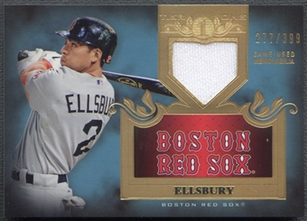 2011 Topps Tier One #TSR32 Jacoby Ellsbury Top Shelf Relics Jersey #277/399