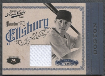 2011 Prime Cuts #20 Jacoby Ellsbury Materials Jersey #155/199