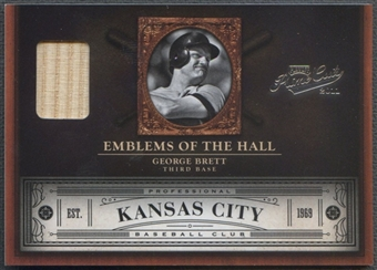 2011 Prime Cuts #23 George Brett Emblems of the Hall Materials Bat #20/99