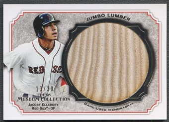2012 Topps Museum Collection #JE Jacoby Ellsbury Jumbo Lumber Bat #13/30