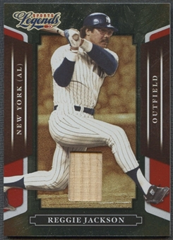 2008 Donruss Sports Legends #130 Reggie Jackson Materials Mirror Red Bat #152/250